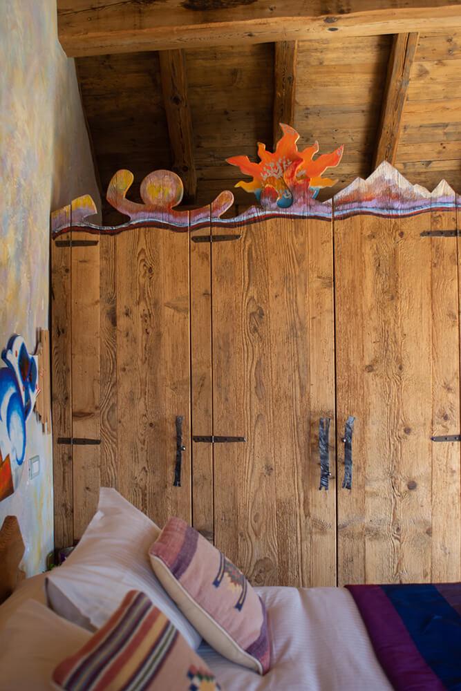 ResAlbert chalet Atmosfera - camera da letto