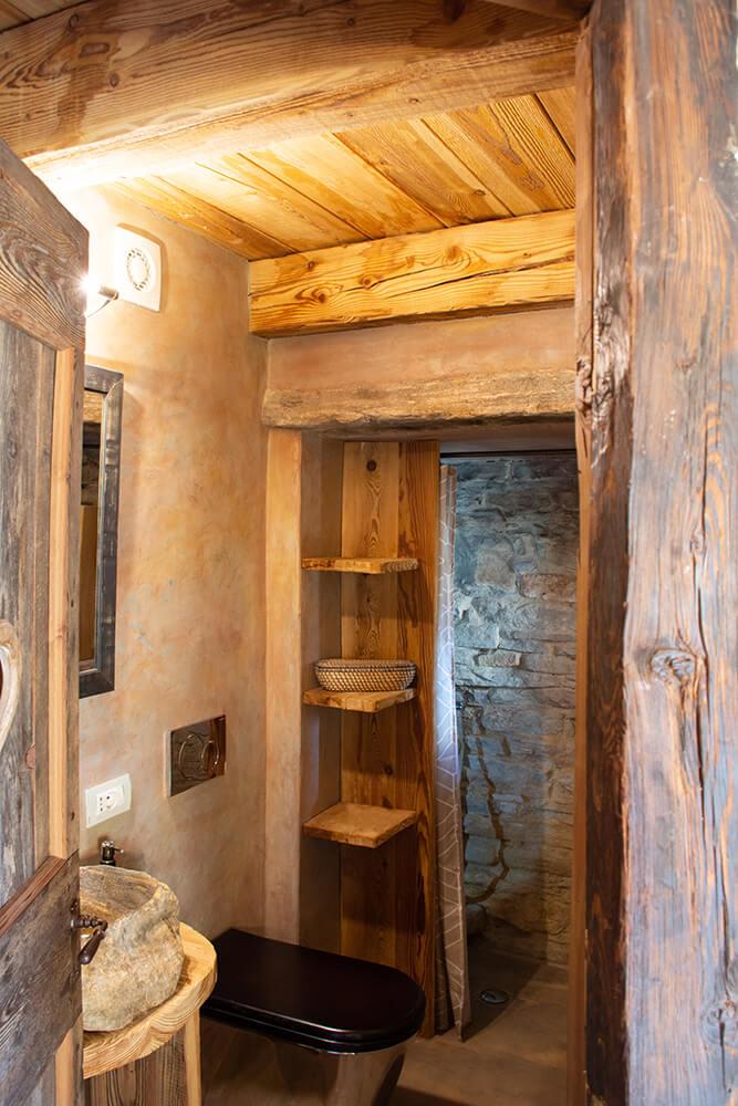 ResAlbert chalet Panorama - bagno privato