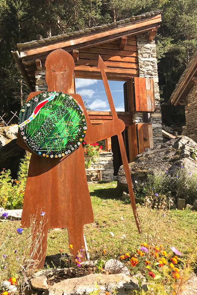 Il guardiano di ResAlbert chalet Armonia - Valchiavenna